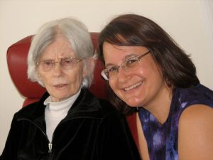 Grandma Rose, Nov 08 (and me)