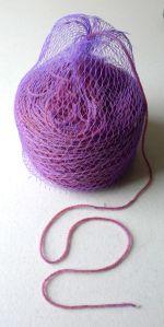 A hair net for yarn