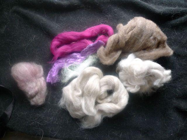 bunny blend fibers