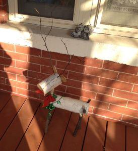 porch reindeer