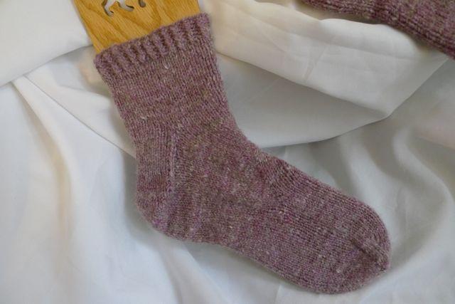 Tibetan Bunny Sock