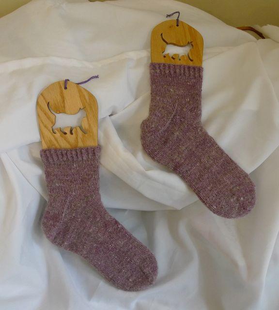 Tibetan Bunny Socks 2
