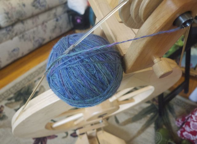 plying ball Ruth yarn