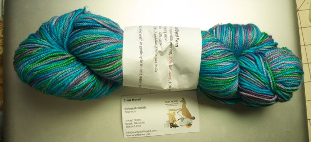 giveaway Iron Horse yarn