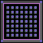 """7 x 7 grid, 2"""" sashing, border"""