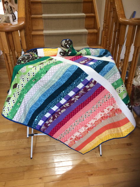 gorgeous rainbow quilt (29 colours)