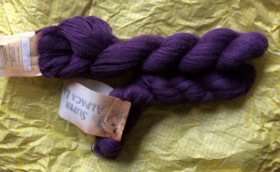 Birthday Alpaca Yarn